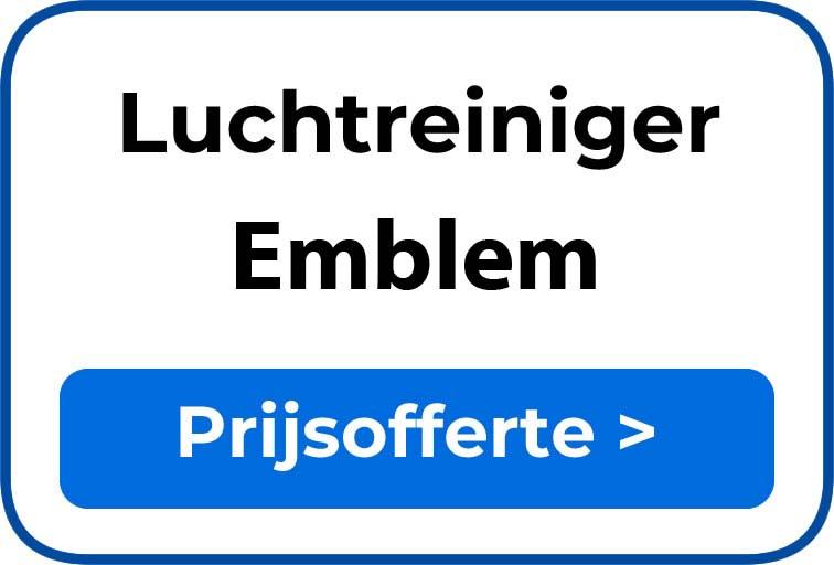 Beste luchtreiniger kopen in Emblem