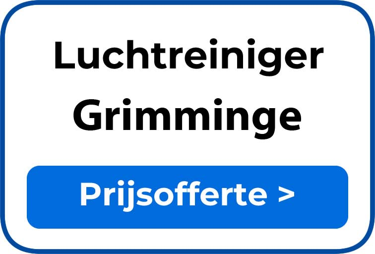 Beste luchtreiniger kopen in Grimminge