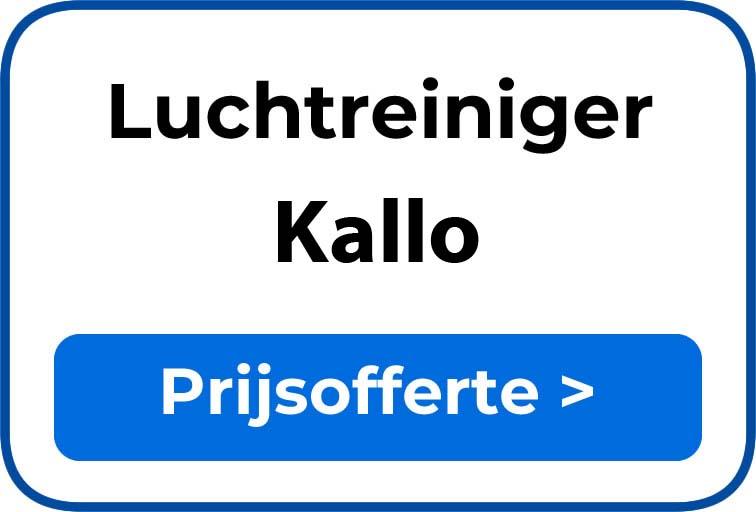 Beste luchtreiniger kopen in Kallo