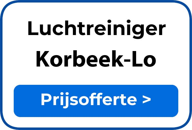 Beste luchtreiniger kopen in Korbeek-Lo