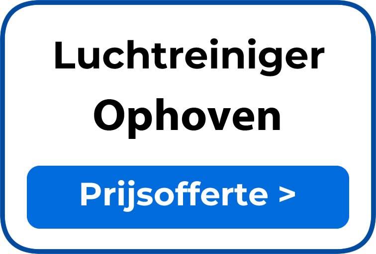 Beste luchtreiniger kopen in Ophoven