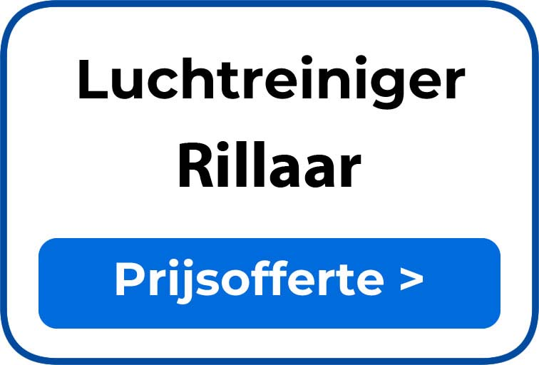 Beste luchtreiniger kopen in Rillaar