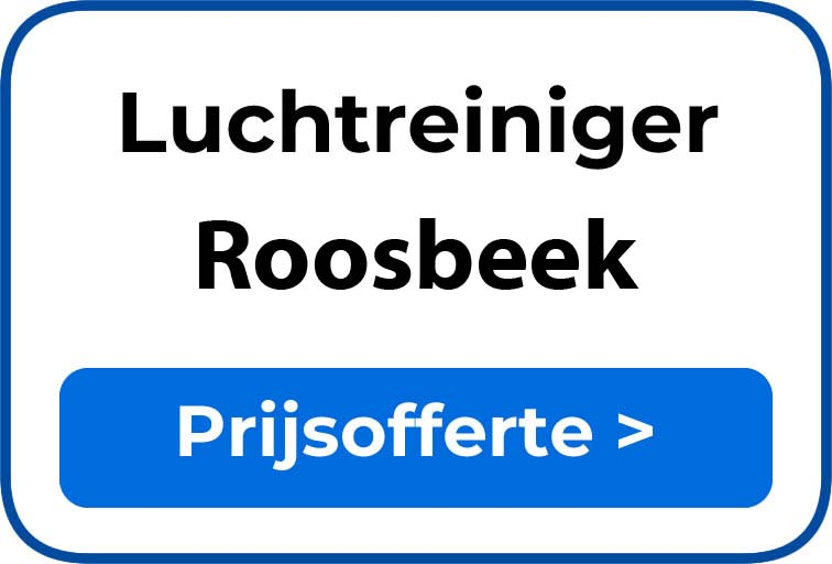 Beste luchtreiniger kopen in Roosbeek