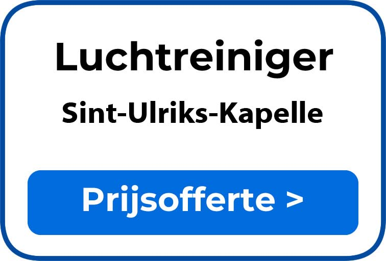 Beste luchtreiniger kopen in Sint-Ulriks-Kapelle